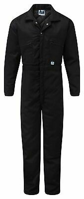 Blue Castle 377 navy blue thermal quilted lined boilersuit padded coverall S-XXL