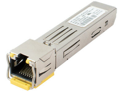 HP BLc Virtual Connect 1Gb GBIC SFP RJ-45 Transceiver, 453154-B21, 453578-001