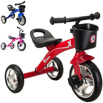 Kiddo 3 Wheeler Smart Design Kids Children Trike Tricycle Pedal Ride-On Bike