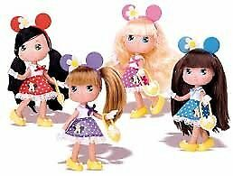 I LOVE MINNIE BAMBOLA con vestitino pois IN TUBO mod. assortiti 08510