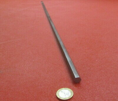 1018 Carbon Steel Hex Rod 10 mm Hex  x 3 Foot Length, 2 Unit