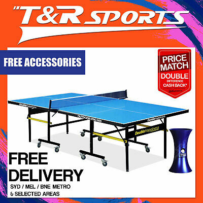 Pro Size 19Mm Top 30Mm Metal Leg Table Heavy Duty Tennis/ping Pong Table