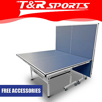 Rrp699.99! 19Mm Double Happiness Table Tennis Table + Free Accessories Pack