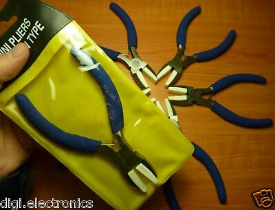 NYLON JAW PLIERS - Soft Nose Grip for Beading Jewelry Crafts. Pouch included