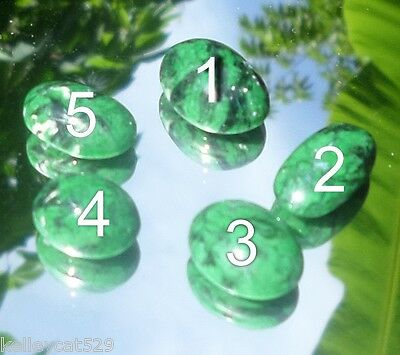 1 Maw Sit Sit Jadeite Assorted Cabochon can be set in ring $30 extra. #5 SOLD!!!