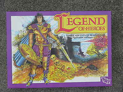 Tsr, Legend Of Heroes Board Game