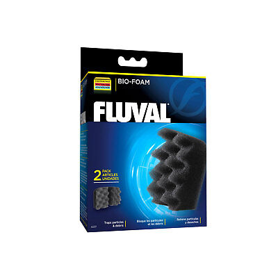 Fluval Bio-Foam for 304 305 306 404 405 406 External Filters, 2 pieces