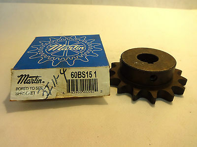 New In Box Martin 60Bs151  Bored To Size Sprocket