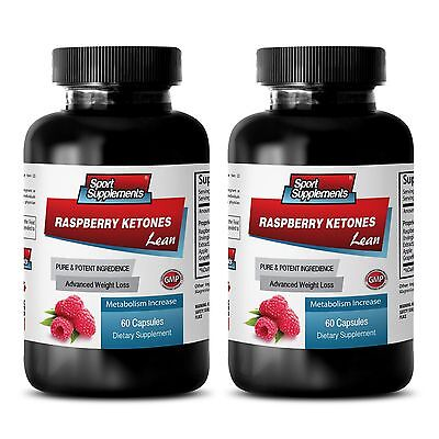 Best Fat Burner - Raspberry Ketones Lean 1200mg Weight Loss Belly Cream Pills 2B