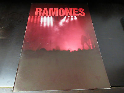 Ramones 1993 Japan Tour Book Concert Program New York Punk Mondo Bizarro Era