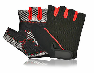 Weight Lifting Gloves Gym Exercise Fitness Padded Training Cycling Body Building