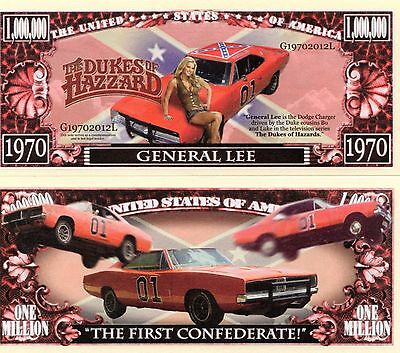 The Dukes of Hazzard TV Series Million Dollar Novelty Money