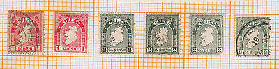 (LX-57) 1922-62 Ireland mix of 16 stamps mint &used