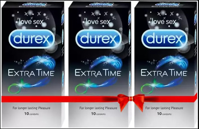 Twin Pack Durex Play Feel & Warming Intimate Sex Lube Foreplay Lubricant Toys