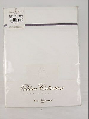 Yves Delorme - Athena Figue Flat Sheets Egyptian Cotton 500Tc Over 50% Off Rrp