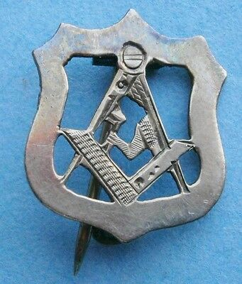 10K Gold Masonic Pin, vintage (early1900s or earlier)