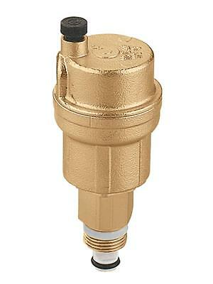 """Caleffi 502710A 1/8"""" Hydronic Automatic Air Vent (with service check valve)"""