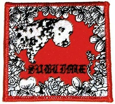 Sublime - Lou Dog - Embroidered Patch - Brand New - Music Band 0352