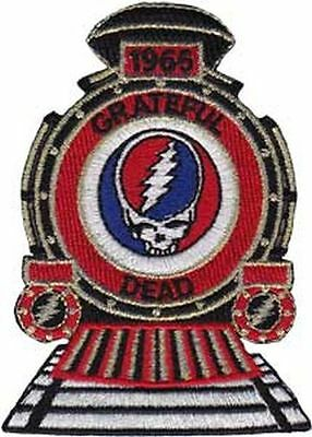 Grateful Dead - 1965 Train Skull - Embroidered Patch - Brand New - Music 3974