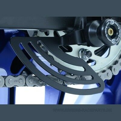 NEW R&G Kettenfinne Yamaha YZF R1 / R1 M 2015- / MT-10 2016- Toe Chain Guard