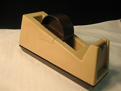 Scotch 3M C-25 Heavy Duty Weighted Industrial Tape Dispenser Model 28000