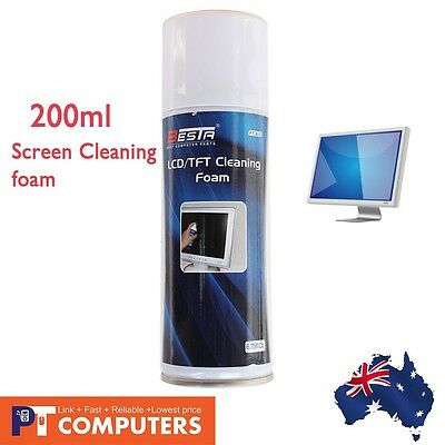 OZ Screen LED TFT Cleaning Foam Cleaner 200ml for LED LCD TFT Screens