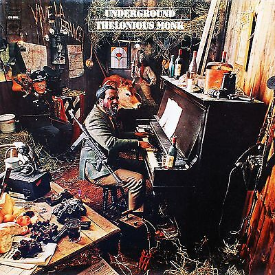 Thelonious Monk 02 (Underground) Album Front Cover Poster Print 02