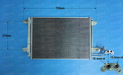 Brand New Air Con Condenser With O Ring Kit A/C Air Conditioning 16-1054
