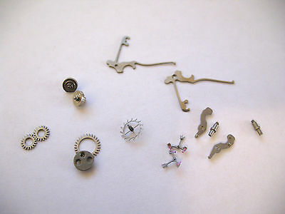 Excelsior Park 4,40,42 Assorted Watch Movement Parts