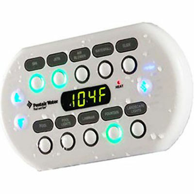 Pentair 521178 Spa Command Pool Remote Controller with 150' Cable - White