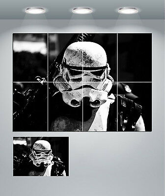 A1 A3 A0 A4 sizes Storm Trooper Regrets Large Poster A2