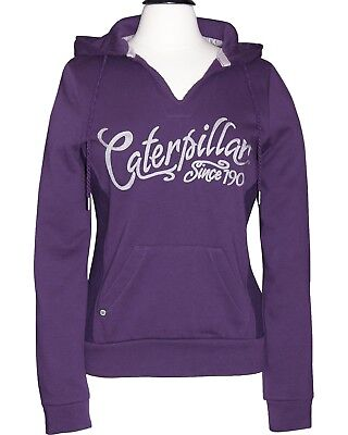 Caterpillar Womens Hoodie Bluberry