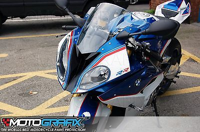 BMW S1000RR 2015 Front Fairing Motorcycle Number Board Motografix Gel Protector