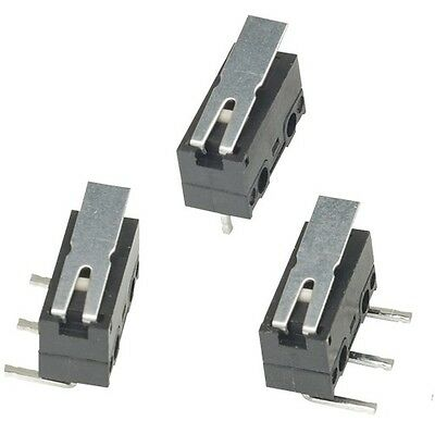 MicroSwitch Super Miniature 3a 125vac Lever R Angle Left u/Switch (Pack of 2)
