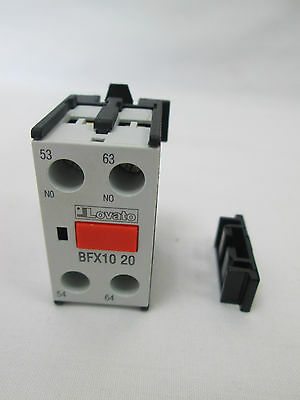 New Snap On Auxiliary Contact with Screw Terminal 2NO - BFX1020