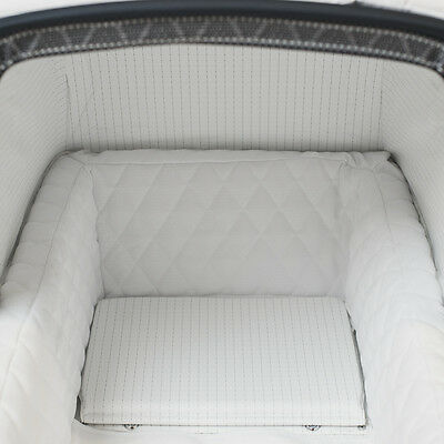 Silver Cross Balmoral Pram Quilted Fabric Bed Liner by Baby Birds