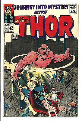 Journey Into Mystery # 121 (Kirby Thor, Oct 1965), Fn
