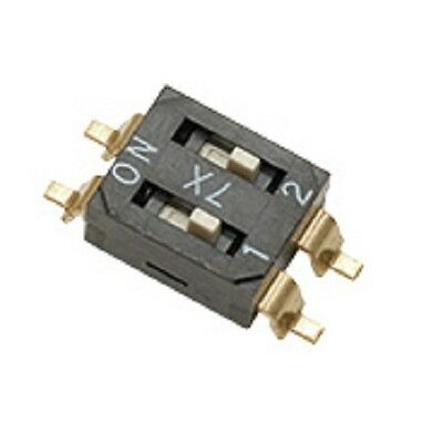 Slide Switch End-Stackable DIL SMT Slider Switch (Pack of 2)