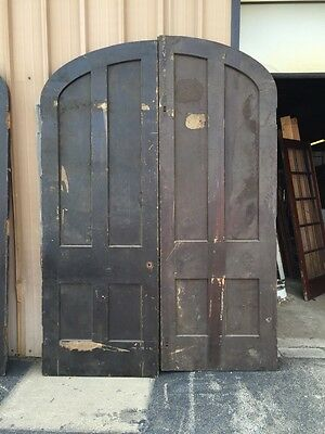 D 141 One Pair Antique Arched Double Doors Popular