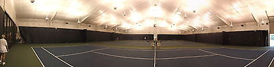 Backdrop Divider / s Tarps for 3 Tennis Courts; or Basketball Courts, Warehouse