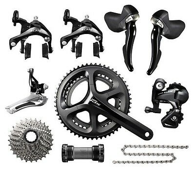 Shimano 105 5800 2 x 11 Speed 50/34 172.5mm 11-32T Bike Groupset Build kits