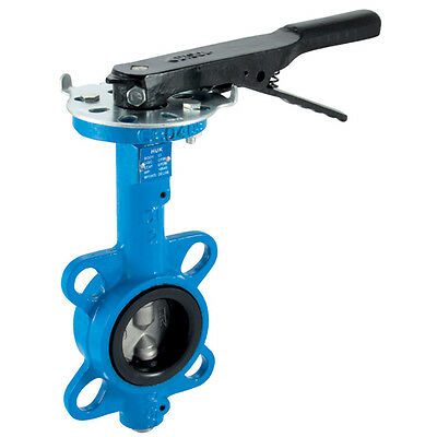 Butterfly Valves Stainless Steel Disc Wafer Pattern  Lever Operated. PN10/16