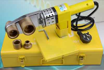Full Automatic Electric Pipe Welding Machine Heating Tool For PPR PE PP Tube