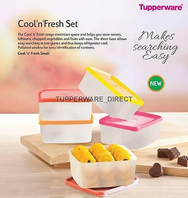 Tupperware Cool and fresh - Small ( Set of 5) 500 ML Each - Free Shipping