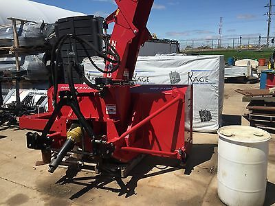 """92"""" Normand Snow Blower Demo For 1 Event DualAugured for Tractor 85-140HP *SALE*"""