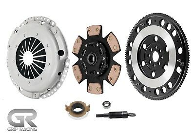 Grip Racing Stage 3 Clutch & 12Lbs Flywheel Kit For Silvia Sr20Det 240Sx 200Sx