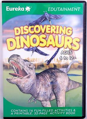 Discovering Dinosaurs Reading Matching Memory Education Computer Game Age 6-12+