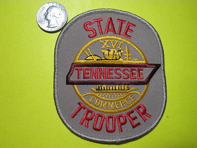 Tennessee State Trooper Highway Patrol Police Patch*