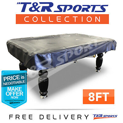Pool Snooker Billiard Table Cover 8Ft Heavy Duty Aus Stock Free Postage