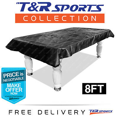 Pool Snooker Billiard Table Cover 9Ft Heavy Duty Aus Stock Free Postage Black